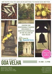 A heritage experience in the village of Goa Velha